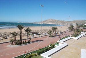 شاطئ أغادير