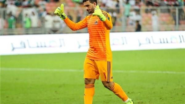 محمد عواد حارس مرمي نادي الزمالك