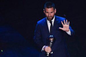 ميسي افضل لاعب في العالم 2019