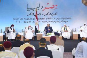 الأمن القومي المصري والليبي و العربي والإقليمي والدولي