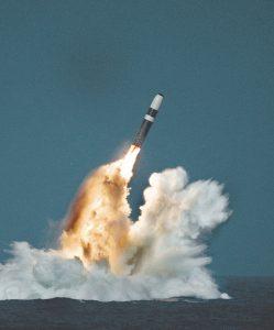 صاروخ ترايدنت 2 في حال الإطلاق