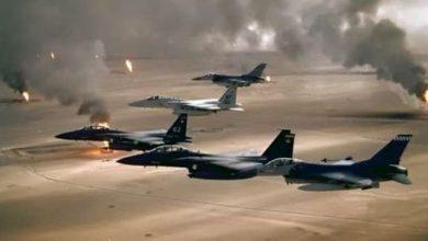 التحالف العربي ينفذ غارات جوية على ثلاثة معسكرات لـ أنصار الله في صنعاء