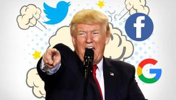 أزال موقع فيسبوك مقطعًا لمقابلة مع دونالد ترامب من منصته