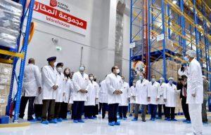 افتتاح السيد الرئيس عبد الفتاح السيسى صباح اليوم مدينة الدواء بمنطقة الخانكة