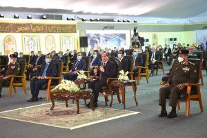 """""""السيد الرئيس عبد الفتاح السيسي يفتتح """"مجمع الإصدارات المؤمنة"""