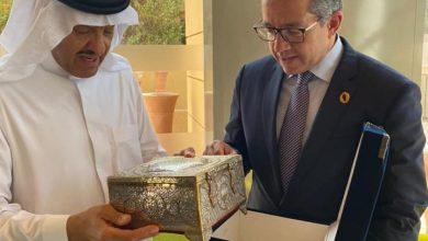 وزير السياحة والآثار يلتقي بصاحب السمو الملكي الأمير سلطان بن سلمان بن عبد العزيز آل سعود