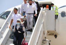 وصول أول طائرة لشركة مصر للطيران إلى مطار برنيس الدولى