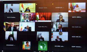 رئيس الوزراء يشارك في الاجتماع الافتراضي للجنة القادة والرؤساء الأفارقة المعنيين بتغير المناخ
