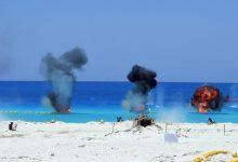 ختام فعاليات المناورة ( رعد - 5 ) التى تنفذها إحدى وحدات المنطقة الشمالية العسكرية