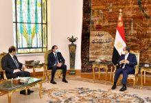 استقبل السيد الرئيس عبد الفتاح السيسي اليوم السيد سعد الحريري، المكلف برئاسة الحكومة اللبنانية