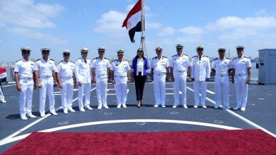 وزارة الهجرة تنظم زيارة لوفد الشباب المصرى واليونانى والقبرصى إلى قاعدة رأس التين البحرية بالأسكندرية