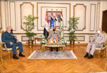وزير الدفاع ورئيس الأركان يلتقيان قائد الجيش اللبنانى لبحث علاقات التعاون العسكرى المشترك