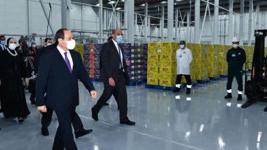 """لقاء السيد الرئيس مع الإعلاميين والصحفيين عقب افتتاح المدينة الصناعية """"سايلو فودز"""""""