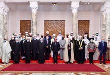 السيد الرئيس يستقبل المشاركين بالمؤتمر العالمي لهيئات الإفتاء