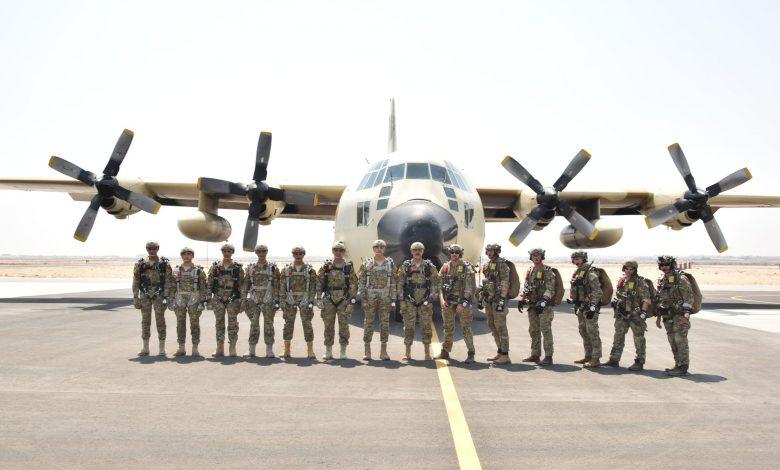ختام فعاليات التدريب المصرى الأمريكى المشترك لعناصر القوات الخاصة فى مجال مكافحة الإرهاب .. تدريب ( SOF03 ) لقوات المظلات وتدريب ( SOF06 ) لقوات الصاعقة مع القوات الخاصة الأمريكية