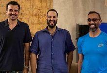 لقاء الأمير محمد بن سلمان مع الأمير تميم والشيخ طحنون