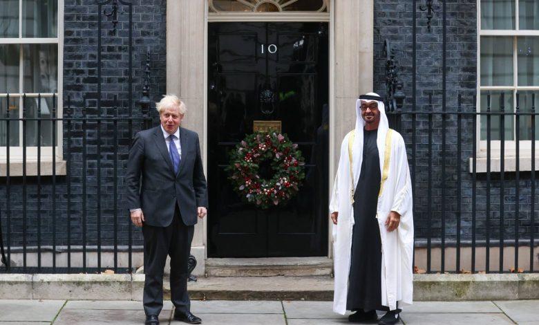 الإمارات: زيارة الشيخ محمد لبريطانيا